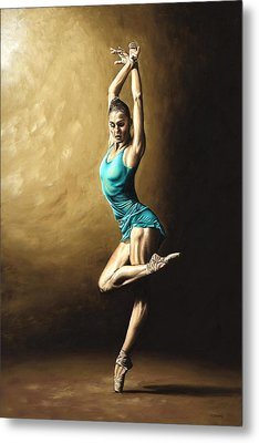 Ardent Dancer Metal Print by Richard Young