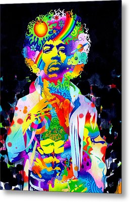 Are You Experienced? Metal Print by Callie Fink