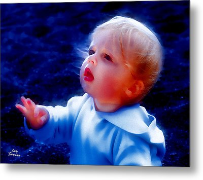 Metal Print featuring the photograph Are You Ok by Kathy Tarochione