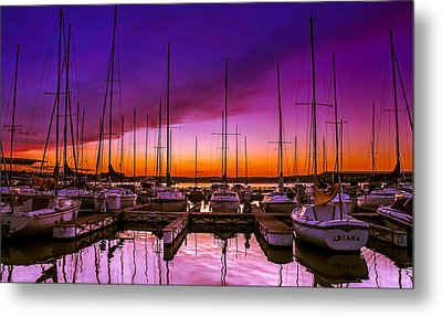 Ariana's Sunset Metal Print by TK Goforth