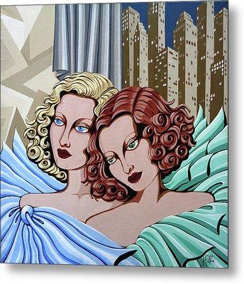 Arielle And Gabrielle Metal Print by Tara Hutton
