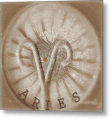 Aries Metal Print by Sherri's Of Palm Springs