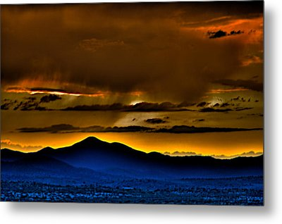 Arizona Dusk Metal Print