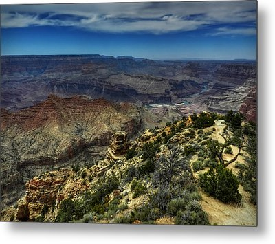 Arizona - Grand Canyon 001 Metal Print by Lance Vaughn