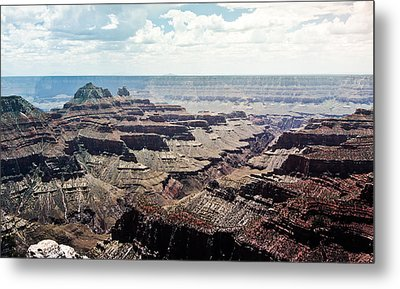 Arizona Grand Canyon North Rim Metal Print by Ryan Kelly
