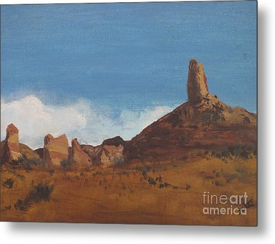 Arizona Monolith Metal Print