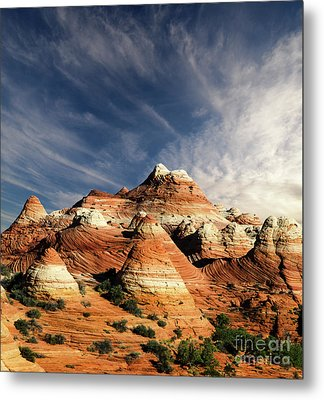 Metal Print featuring the photograph Arizona North Coyote Buttes by Bob Christopher