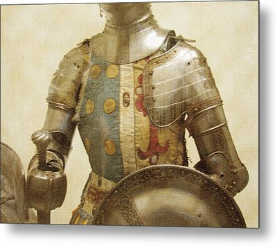 Armor Hot Dog Metal Print by Kevin  Sherf