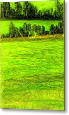 Aroostook County Maine Metal Print by FeatherStone Studio Julie A Miller