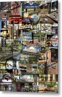 Around Loveland Metal Print