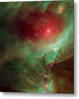 Around The Sword Of The Constellation Orion  Metal Print