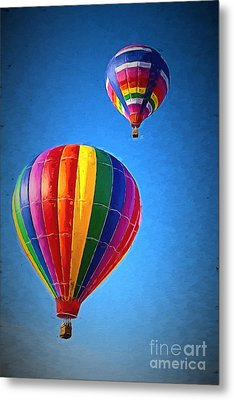 Around The World Metal Print by A New Focus Photography