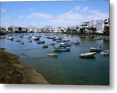 Arrecife - Lanzarote Metal Print by Cambion Art