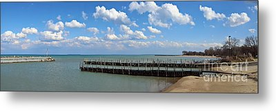 Arrington Lakefront Lagoon Photo Art 02 Metal Print by Earolyn Photography By Teague