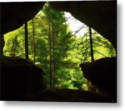 Arrowhead Cavern Metal Print by Dan Sproul