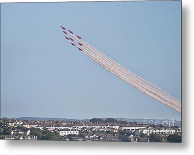 Arrows Over Falmouth Bay Metal Print