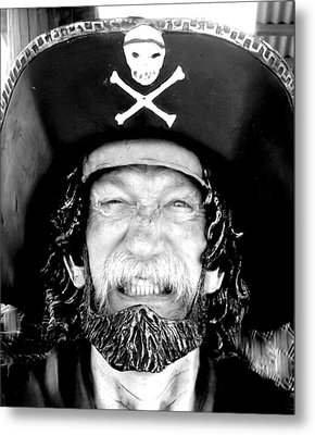 Metal Print featuring the photograph Arrrgh by Antonia Citrino
