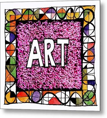 Art 1  Metal Print by Andy  Mercer
