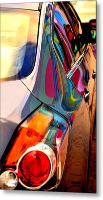 Art Car Metal Print by David Gilbert