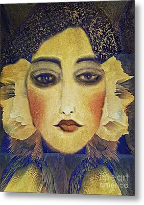Art Deco  Beauty Metal Print by Alexis Rotella