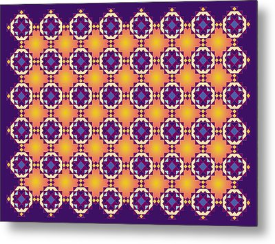 Art Matrix 001 A Metal Print