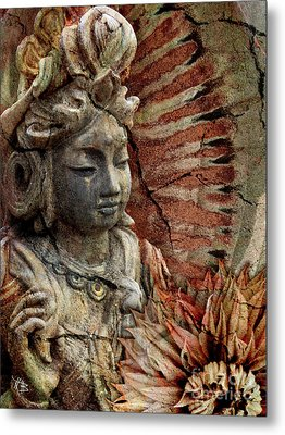Art Of Memory Metal Print by Christopher Beikmann