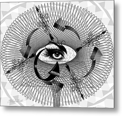 Art Redux Metal Print by Robert Kernodle