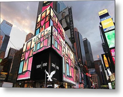 Art Takes Times Square Metal Print