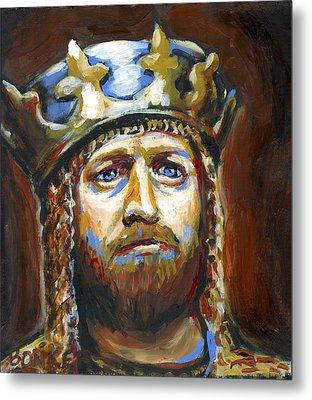 Arthur King Of The Britons Metal Print by Buffalo Bonker