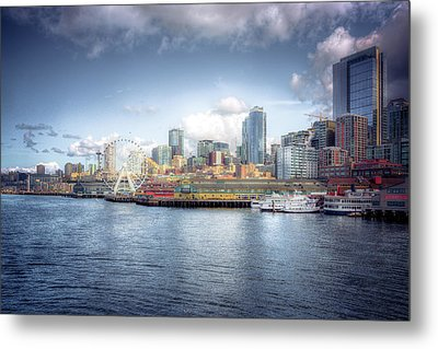 Artistic In Seattle Metal Print by Spencer McDonald