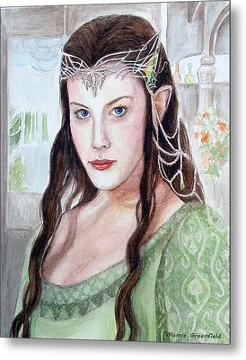 Arwen Metal Print by Mamie Greenfield