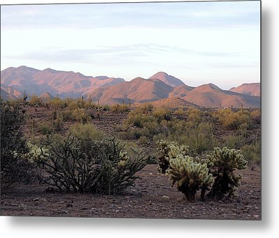 Metal Print featuring the photograph As Evening Falls by Gordon Beck