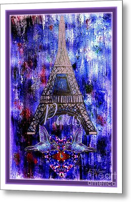 As Friends We Share The Same Emotions Metal Print