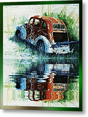 As Time Goes By. . . Metal Print