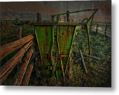 As We Do Metal Print by Mark  Ross