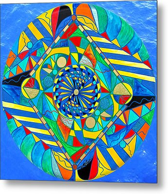 Ascended Reunion Metal Print by Teal Eye  Print Store