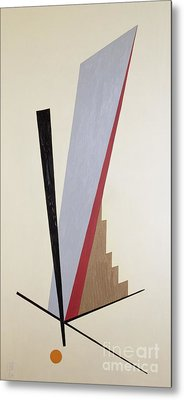 Ascending Metal Print by Carolyn Hubbard-Ford
