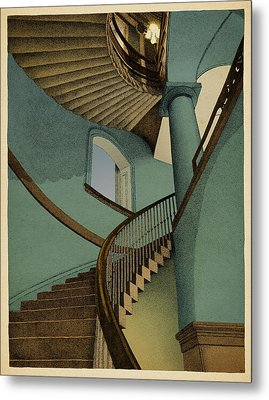 Ascending Metal Print by Meg Shearer