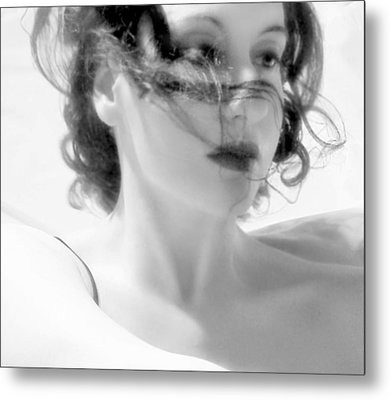 Ascension - Self Portrait Metal Print by Jaeda DeWalt