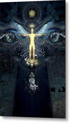 Ascension And Rebirth Metal Print by Alex Polanco