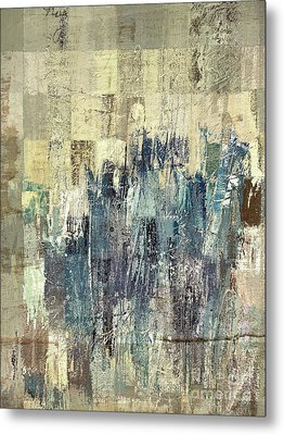 Metal Print featuring the painting Ascension - C03xt-159at2b by Variance Collections