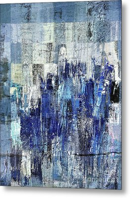 Metal Print featuring the digital art Ascension - C03xt-160at2c by Variance Collections