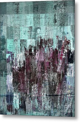 Metal Print featuring the digital art Ascension - C03xt-161at2c by Variance Collections