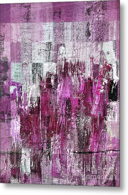 Metal Print featuring the digital art Ascension - C03xt-165at2c by Variance Collections