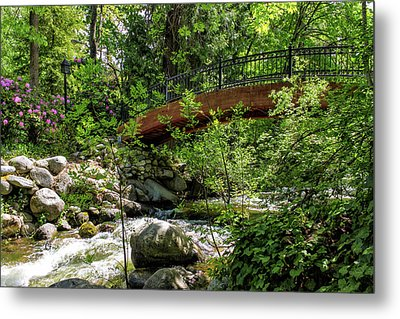 Ashland Creek Metal Print by James Eddy