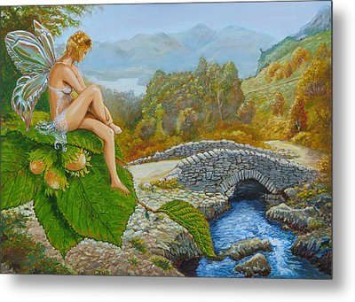 Ashness Faery Metal Print by Tomas OMaoldomhnaigh