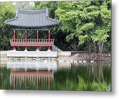 Asian Theater Metal Print
