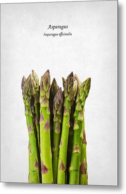 Asparagus Metal Print by Mark Rogan