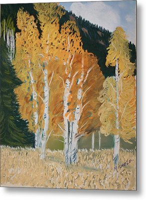 Aspen Sanctuary Metal Print