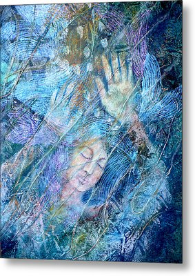 Assailed By Confusion Metal Print by Sue Reed